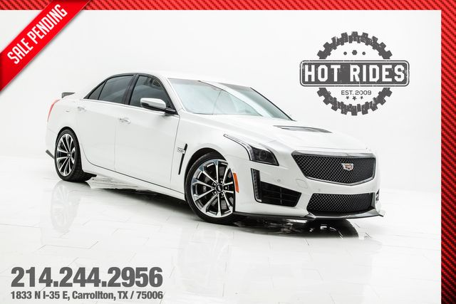 2018 Cadillac CTS-V Carbon Package Fully Loaded