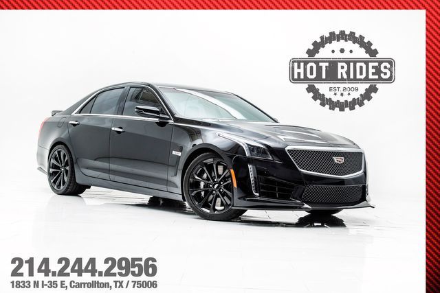 2018 Cadillac CTS-V Sedan With Carbon Pkg & Recaro's in , TX 75006