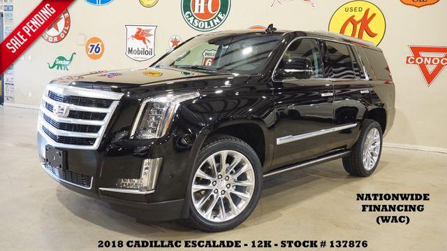 2018 Cadillac Escalade Premium Luxury HUD,ROOF,NAV,360 CAM,REAR DVD,12K