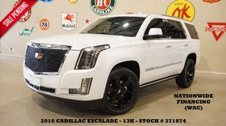 2018 Cadillac Escalade Premium Luxury HUD,ROOF,NAV,360 CAM,REAR DVD,13K in Carrollton, TX 75006