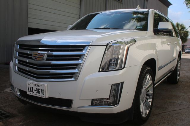 2018 Cadillac Escalade ESV Platinum Houston, Texas 4
