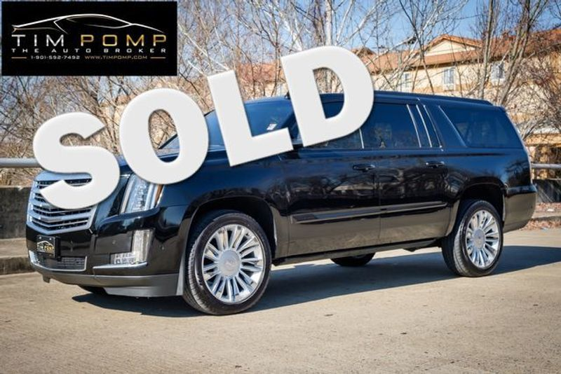 2018 Cadillac Escalade ESV Luxury   Memphis, Tennessee   Tim Pomp - The Auto Broker in Memphis Tennessee