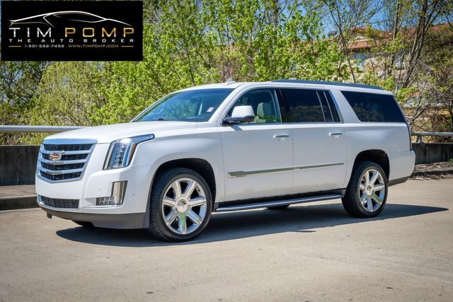 2018 Cadillac Escalade ESV Luxury 1 0WNER CLEAN CARFAX