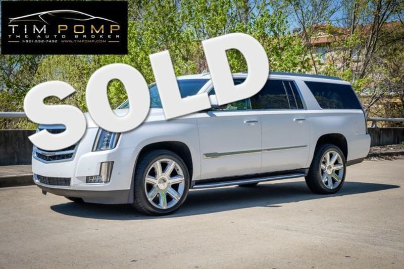 2018 Cadillac Escalade ESV Luxury | Memphis, Tennessee | Tim Pomp - The Auto Broker in Memphis Tennessee