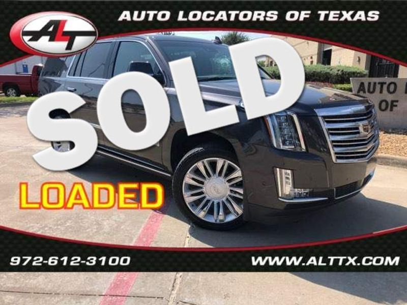 2018 Cadillac Escalade Platinum | Plano, TX | Consign My Vehicle in Plano TX