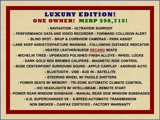 2018 Cadillac V-Series CTS-V LUXURY EDITION - RECARO - DATA RECORDER! Mooresville , NC 1