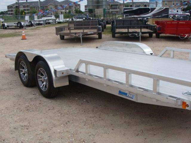 2018 Cargo Pro 16' Open Car Trailer Flatbed Auto Hauler CONROE, TX 1