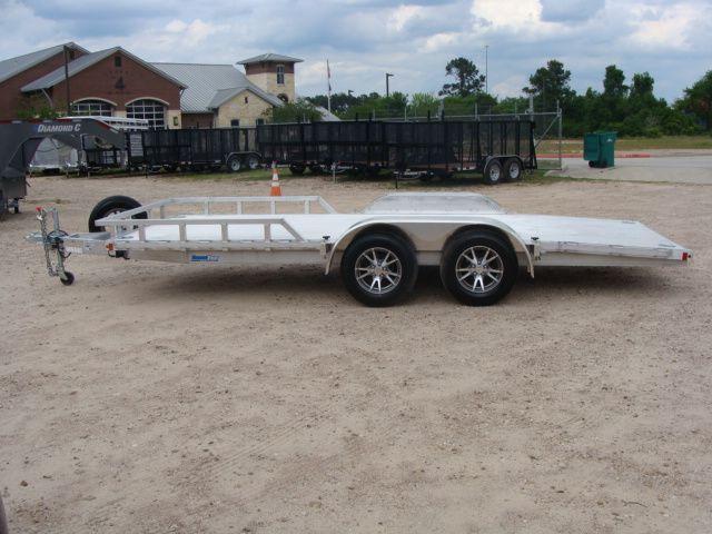2018 Cargo Pro 18' Open Utility Car Trailer CONROE, TX 7