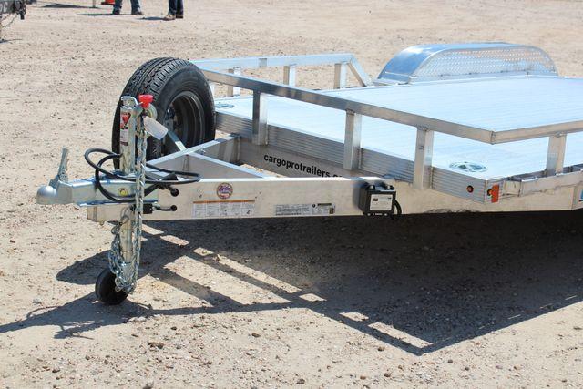 2018 Cargo Pro OPEN UTILITY 14' CAR TRAILER CONROE, TX 4