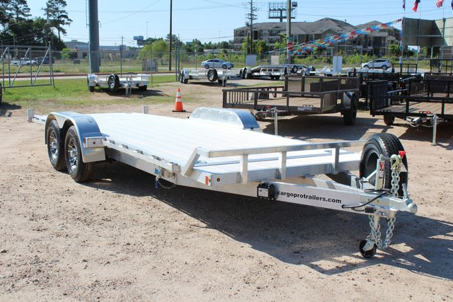 2018 Cargo Pro 22' - TILT DECK Manual Tilt Deck 22' Open Car Trailer - NO RAMPS! CONROE, TX 19