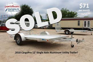 2018 Cargo Pro Open Utility Trailer 12' Utility Trailer CONROE, TX