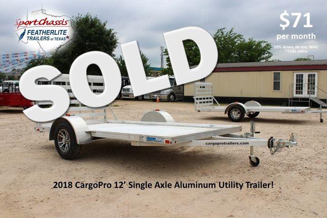 2018 Cargo Pro Open Utility Trailer 12' Utility Trailer CONROE, TX 0