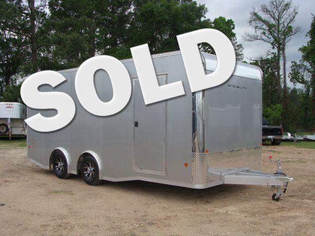 2018 Cargo Pro STEALTH 20' - ENCLOSED Car Trailer CONROE, TX 0