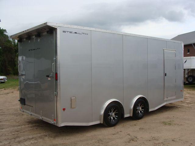 2018 Cargo Pro STEALTH 20' - ENCLOSED Car Trailer CONROE, TX 37