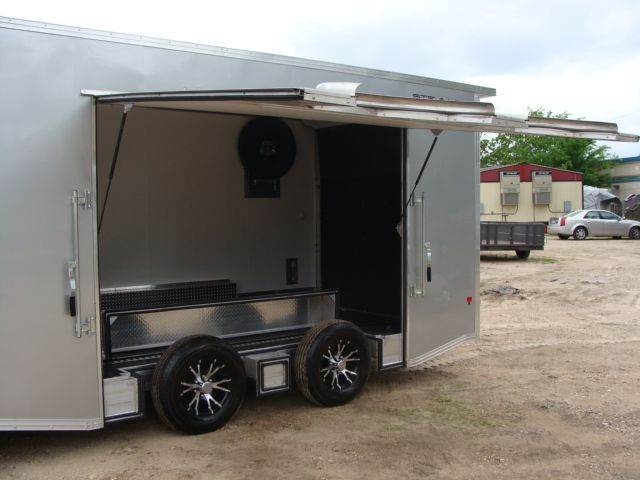 2018 Cargo Pro STEALTH 20' - ENCLOSED Car Trailer CONROE, TX 7