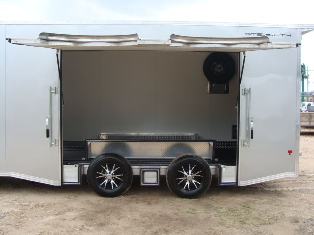 2018 Cargo Pro STEALTH 20' - ENCLOSED Car Trailer CONROE, TX 10