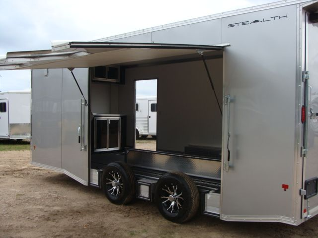 2018 Cargo Pro STEALTH 20' - ENCLOSED Car Trailer CONROE, TX 13