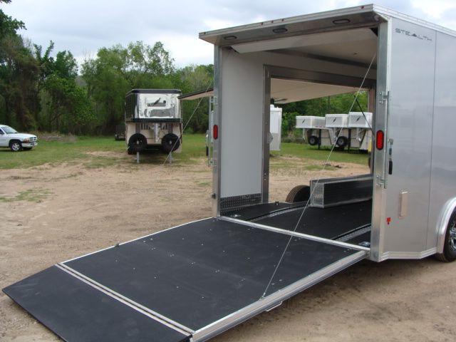 2018 Cargo Pro STEALTH 20' - ENCLOSED Car Trailer CONROE, TX 35