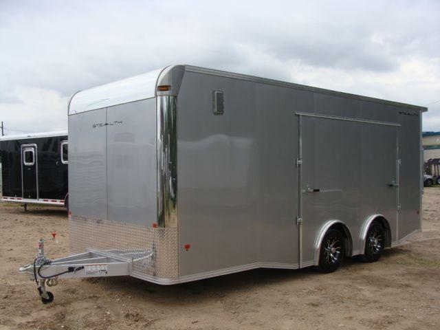 2018 Cargo Pro STEALTH 20' - ENCLOSED Car Trailer CONROE, TX 8
