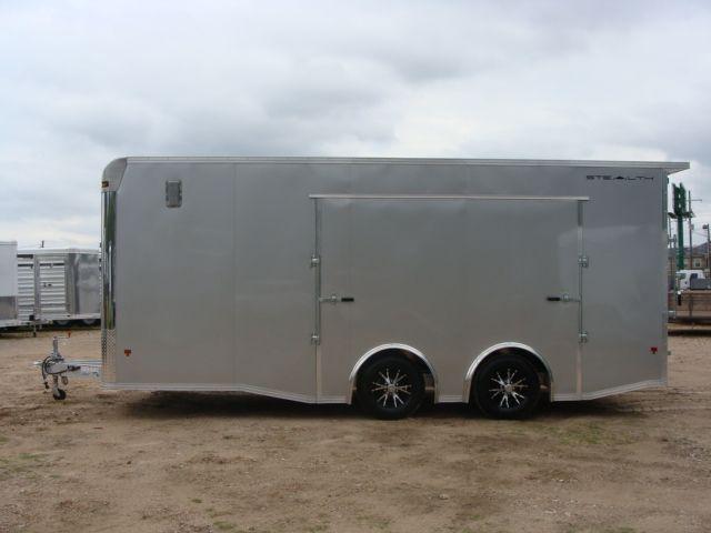 2018 Cargo Pro STEALTH 20' - ENCLOSED Car Trailer CONROE, TX 9