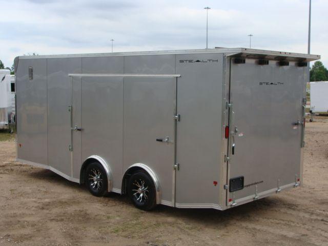 2018 Cargo Pro STEALTH 20' - ENCLOSED Car Trailer CONROE, TX 11