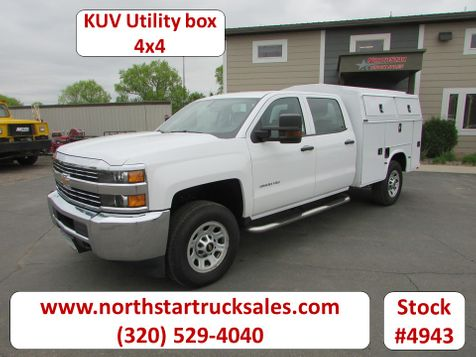 2018 Chevrolet 3500HD 4x4 Crew-Cab Service Utility Truck   in St Cloud, MN
