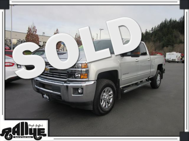 2018 Chevrolet 3500HD Silverado LT C/Cab 4WD 6.6L Diesel in Burlington, WA 98233
