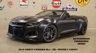 2018 Chevrolet Camaro ZL1 CONV,MATTE BLK,LOWERED,EXHAUST,BC FORGED,5K in Carrollton, TX 75006