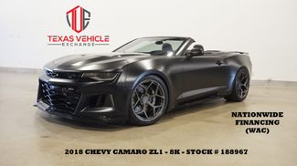 2018 Chevrolet Camaro ZL1 CONV,MATTE BLK,LOWERED,EXHAUST,BC FORGED,8K in Carrollton, TX 75006