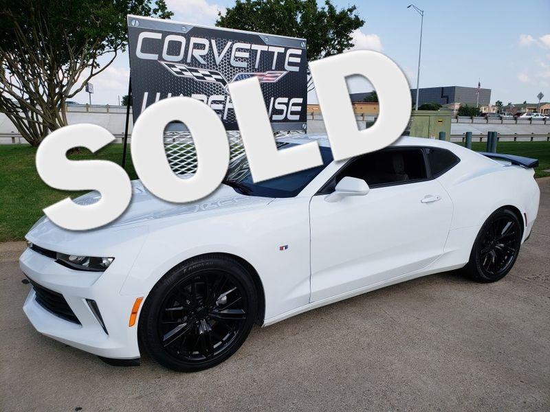 2018 Chevrolet Camaro Coupe Auto, Mylnk, Black Alloy Wheels, Only 12k! | Dallas, Texas | Corvette Warehouse