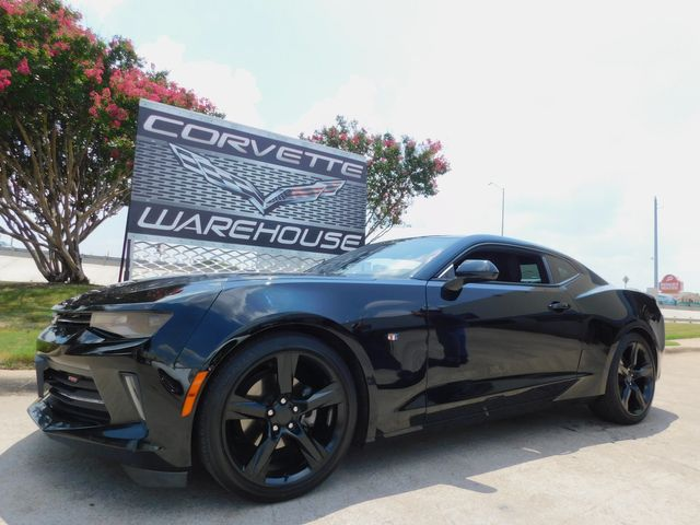 2018 Chevrolet Camaro Coupe RS, Auto, CD, Black Alloys, Only 72k in Dallas, Texas 75220
