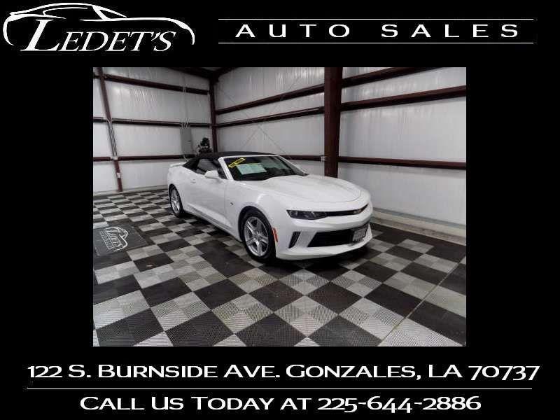 2018 Chevrolet Camaro LT - Ledet's Auto Sales Gonzales_state_zip in Gonzales Louisiana