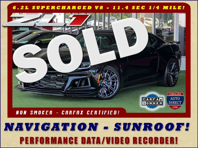 2018 Chevrolet Camaro ZL1 - NAV - SUNROOF - PERFORMANCE RECORDER! Mooresville , NC