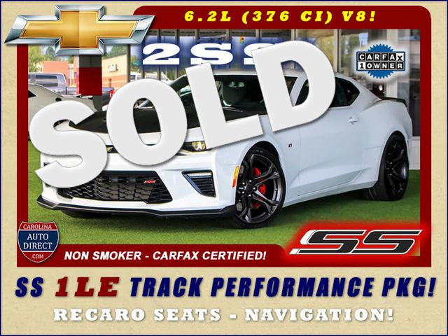 2018 Chevrolet Camaro 2SS/SS 1LE TRACK PERFORMANCE PKG - NAV - MAG RIDE! Mooresville , NC