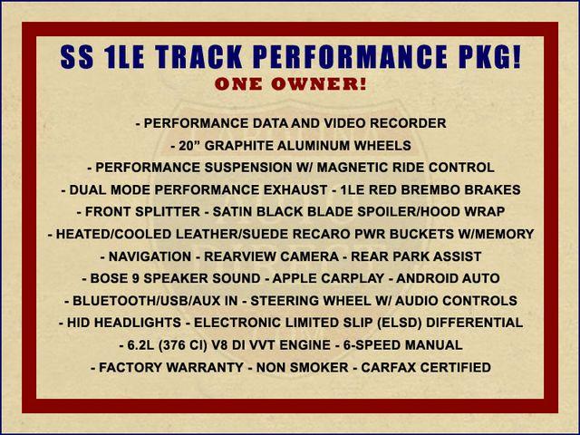 2018 Chevrolet Camaro 2SS/SS 1LE TRACK PERFORMANCE PKG - NAV - MAG RIDE! Mooresville , NC 1