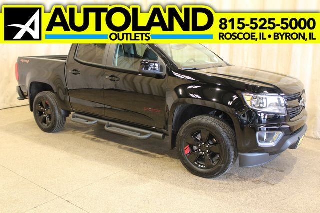 2018 Chevrolet Colorado 4x4 Lt Redline edition