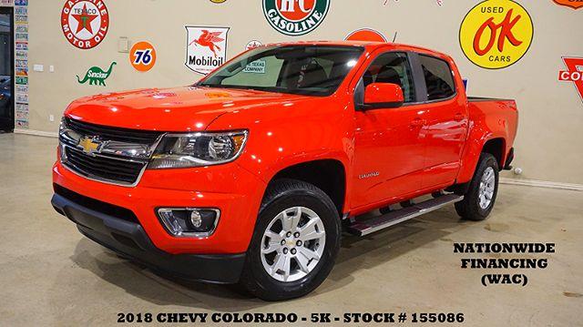 2018 Chevrolet Colorado 4WD LT V6,NAV,BACK-UP CAM,BOSE,5K,WE FINANCE
