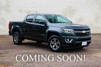 2018 Chevrolet Colorado Crew Cab Z71 4x4 w/Touchscreen in Eau Claire, Wisconsin