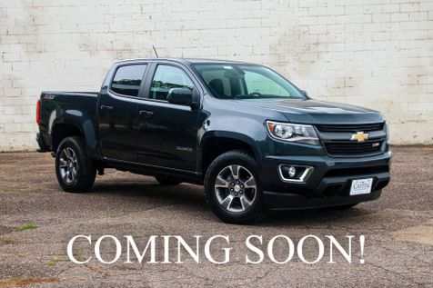 2018 Chevrolet Colorado Crew Cab Z71 4x4 w/Touchscreen Navigation, Backup Cam, Heated Seats & BOSE Audio in Eau Claire