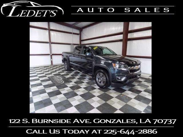 2018 Chevrolet Colorado 4WD LT - Ledet's Auto Sales Gonzales_state_zip in Gonzales