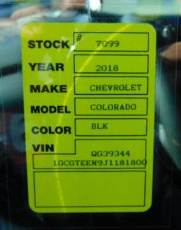 2018 Chevrolet Colorado 4WD ZR2 Nephi, Utah 15