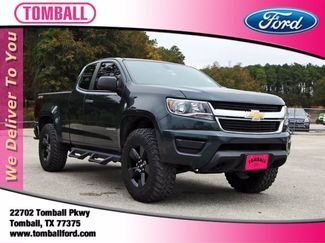 2018 Chevrolet Colorado 4WD Work Truck in Tomball, TX 77375