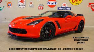2018 Chevrolet Callaway SC 757 Corvette Z06 3LZ 7 SPD,HUD,NAV,F&R CAM,5K in Carrollton, TX 75006