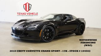 2018 Chevrolet Corvette Grand Sport 2LT AUTO,HUD,NAV,HTD/COOL LTH,17K in Carrollton, TX 75006