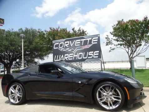 2018 Chevrolet Corvette Coupe 3LT, NAV, Glass Top, UQT, Chrome Wheels 16k! | Dallas, Texas | Corvette Warehouse  in Dallas, Texas