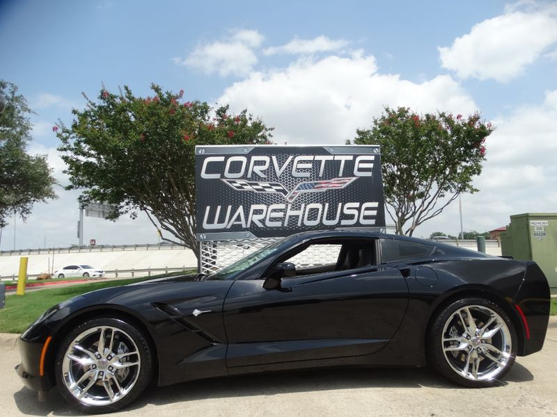 2018 Chevrolet Corvette Coupe 3LT, NAV, Glass Top, UQT, Chrome Wheels 16k! | Dallas, Texas | Corvette Warehouse