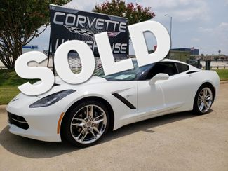2018 Chevrolet Corvette Coupe 3LT, NAV, Z51 Chromes, One-Owner, 21k! | Dallas, Texas | Corvette Warehouse  in Dallas Texas