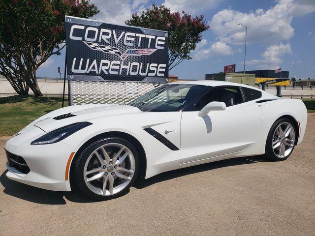 2018 Chevrolet Corvette Coupe 3LT, NAV, Z51 Chromes, One-Owner, 21k! | Dallas, Texas | Corvette Warehouse  in Dallas Texas