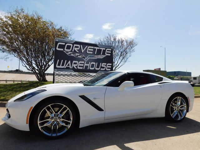 2018 Chevrolet Corvette Coupe Z51, 3LT, NAV, NPP, UQT, Auto, Chromes 7k in Dallas, Texas 75220
