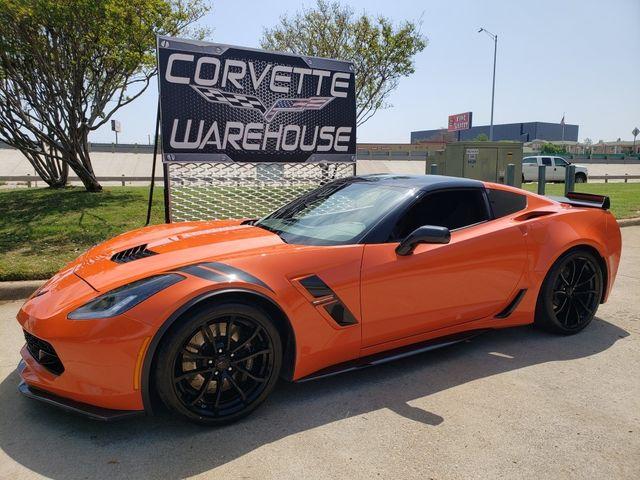2018 Chevrolet Corvette Grand Sport Heritage, 7-Speed, Black Wheels 19k